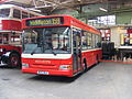 Bluebird (Middleton) bus 25 (MG53 BLU), Museum of Transport Manchester, 17 May 2008.jpg