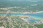 Bluewater Bridge, aerial view.JPG