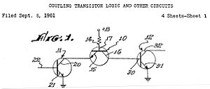 James L. Buie - Image: Blui transistor logic circuits patent
