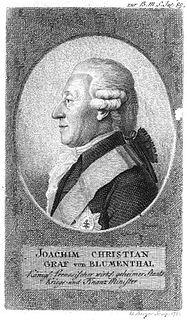 Joachim von Blumenthal German politician