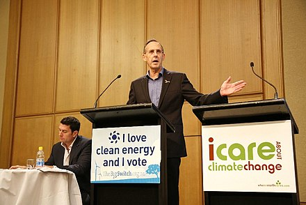 Bob Brown lays out the Greens' climate change policies in the lead-up to the 2007 federal election