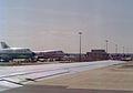 Boeing 747-257B N303TW Nationair, London - Gatwick - UK, August 1990. (5499509233).jpg
