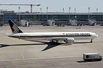 Boeing 777-312(ER) Singapore Airlines 9V-SWE (13967537968).jpg