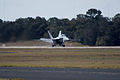 Boeing FA-18F Super Hornet Takeoff 01 TICO 13March2010 (14599412575).jpg