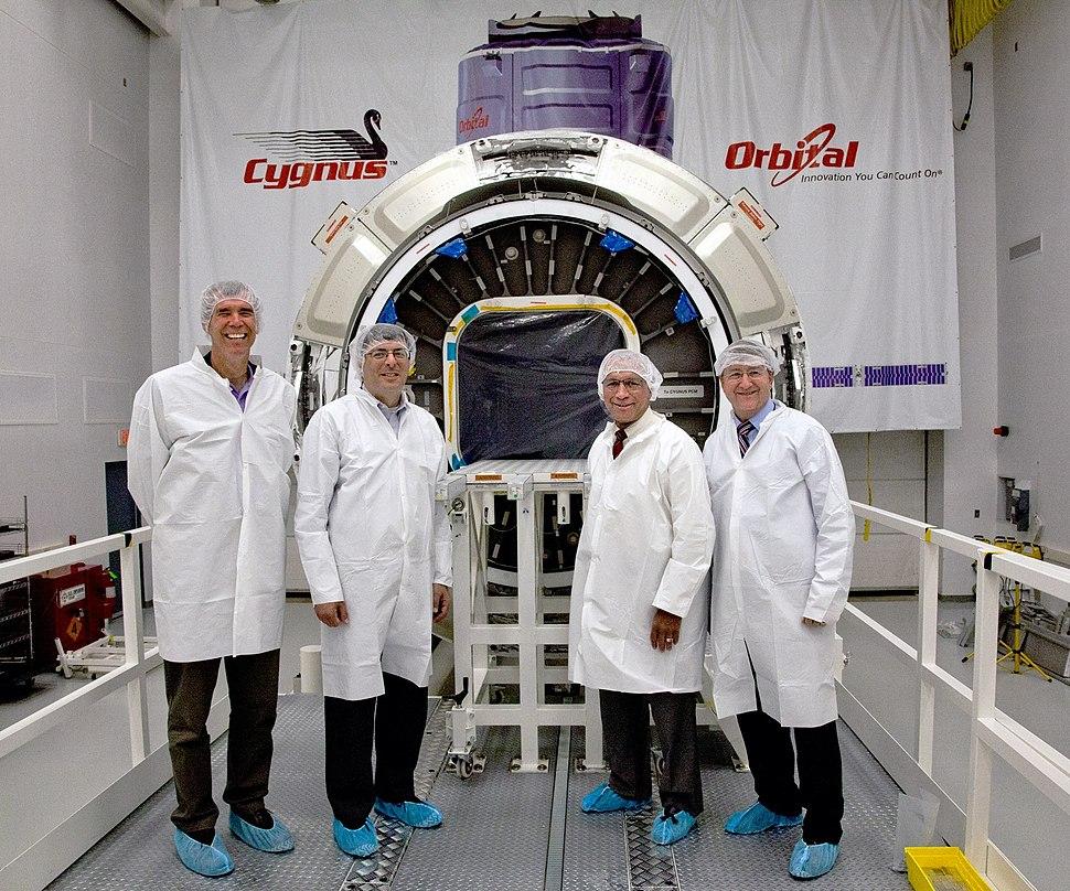Bolden in-front of Cygnus