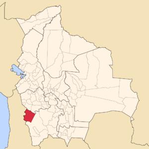 Daniel Campos Province