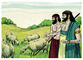 Book of Job Chapter 1-1 (Bible Illustrations by Sweet Media).jpg