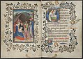 Book of hours by the Master of Zweder van Culemborg - KB 79 K 2 - folios 033v (left) and 034r (right).jpg