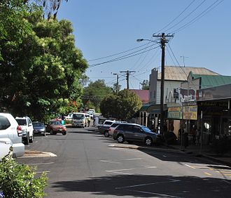 Boonah, Queensland - Main street of Boonah, 2008