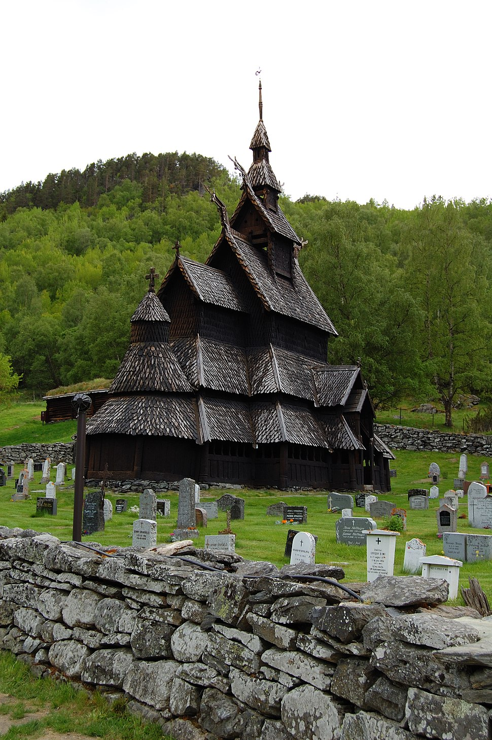 Borgund stave church 2009