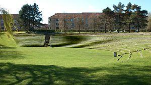 Aarhus Botanical Gardens - Image: Botanisk Have (Amfiscenen)