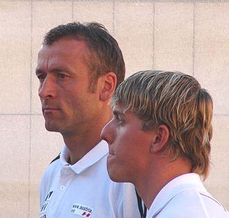 Mikhail Botvinov - Mikhail Botvinov (left)