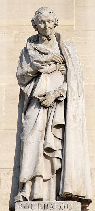 Louis Bourdaloue - Bourdaloue by Louis Desprez, Cour Napoléon of the Palais du Louvre