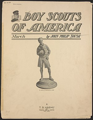 """Boy Scouts of America"" march (sheet..."