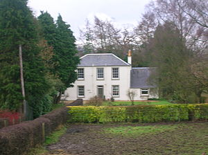 John Boyd Orr, 1st Baron Boyd-Orr - The birthplace of Lord Boyd-Orr: Holland Green, Fenwick Road, Kilmaurs.