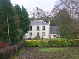 John Boyd Orr - The birthplace of John Boyd Orr: Holland Green, Fenwick Road, Kilmaurs.
