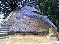 Brahm-sthan, an earthen mound in the form of Stupa or Chaitya located at village periphery of Pathkauli-Malkauli, Bagaha-2, West Champaran, Bihar.jpg
