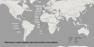 Bureau de Recherches Géologiques et Minières - Image: Brgm discover fr