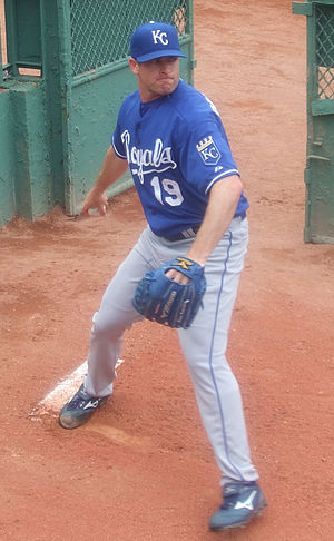Brian Bannister - Bannister with the Kansas City Royals