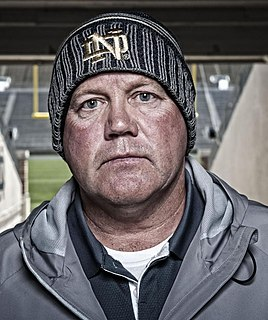 Brian Kelly (American football coach) American college football player and coach