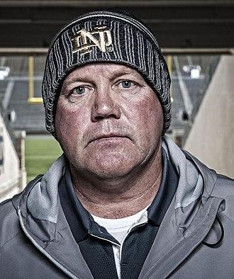 Brian Kelly (American football coach) - Kelly in 2012
