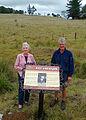 Brisbane Valley Rail Trail Interpretive signage near Blackbutt 2011.jpg