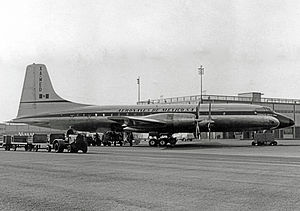 Aeroméxico - Aeronaves de Mexico Bristol Britannia at New York JFK in 1958