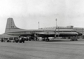 Aeroméxico - Aeronaves de Mexico Bristol Britannia at New York JFK in 1958