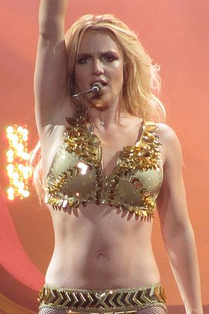 "Britney Spears performing ""Gimme More&quo..."