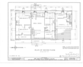 Britton-Cubberly House, New Dorp Lane, New Dorp, Richmond County, NY HABS NY,43-NEDO,1- (sheet 2 of 11).png