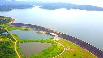 Brokopondo District - Brokopondo reservoir