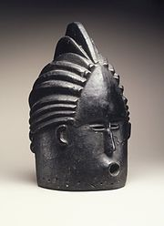 Brooklyn Museum 1998.80.2 Helmet Mask for Sande Society