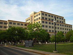 Texas Youth Commission - TYC headquarters, Brown-Heatly Building, Austin