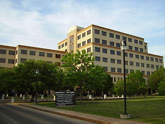 Texas Health and Human Services Commission - The Brown-Heatly Building houses the commission's headquarters in Austin; it is partly named for the late State Representative William S. Heatly of Paducah in Cottle County.
