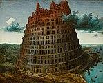 Bruegel d. Ä., Pieter - Tower of Babel - Museum Boijmans Van Beuningen Rotterdam.jpg