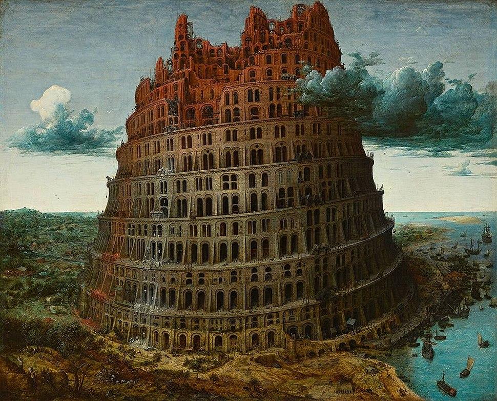 Bruegel d. Ä., Pieter - Tower of Babel - Museum Boijmans Van Beuningen Rotterdam