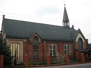 Brzezinka, Mysłowice - Saint Mary church, built in 1893