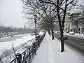 Bucuresti, Romania. Peisaj de iarna cu Dambovita. 28 Februarie 2018. (3).jpg
