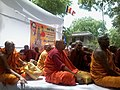 Budha Monks at Jantar Mantar.jpg