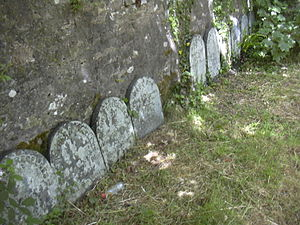 Fox family of Falmouth - Gravestones at the Quaker Burial Ground, Budock, where many members of the Fox family were buried, along with their Friends, of the Tregelles and Stephens families.