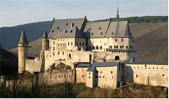 Counts of Vianden - The Castle of Vianden, built in the 11th and 12th centuries.
