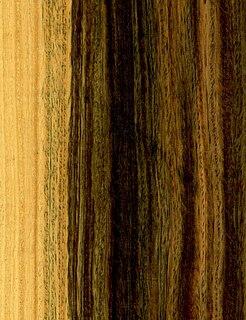 Lignum vitae type of wood