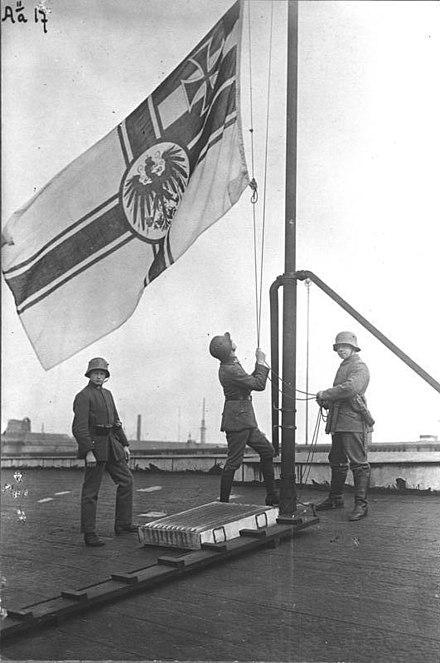 ausrufung der republik 1918