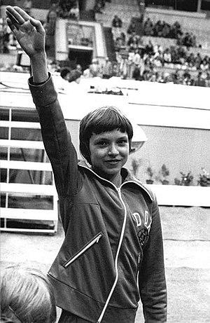 Maxi Gnauck - Maxi Gnauck in 1983