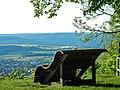 Burgruine Hohenstaufen, Ausblick Richtung Nordwesten - panoramio.jpg