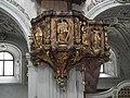 Burgusio-Burgeis, Abbazia di Monte Maria, pulpit 004.JPG
