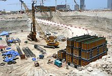 Burj Al Alam Under Construction on 13 June 2008.jpg