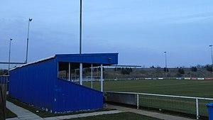 Burton Park Wanderers F.C. - Image: Burton Park Wanderers fc main stand