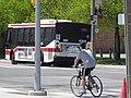 Bus on Queen's Quay, 2015 05 17 (2) (17828610482).jpg