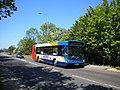 Bus on the A1307 in Haverhill - geograph.org.uk - 3060193.jpg